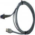 Datalogic USB Cable, Type A, Straight, CAB-426