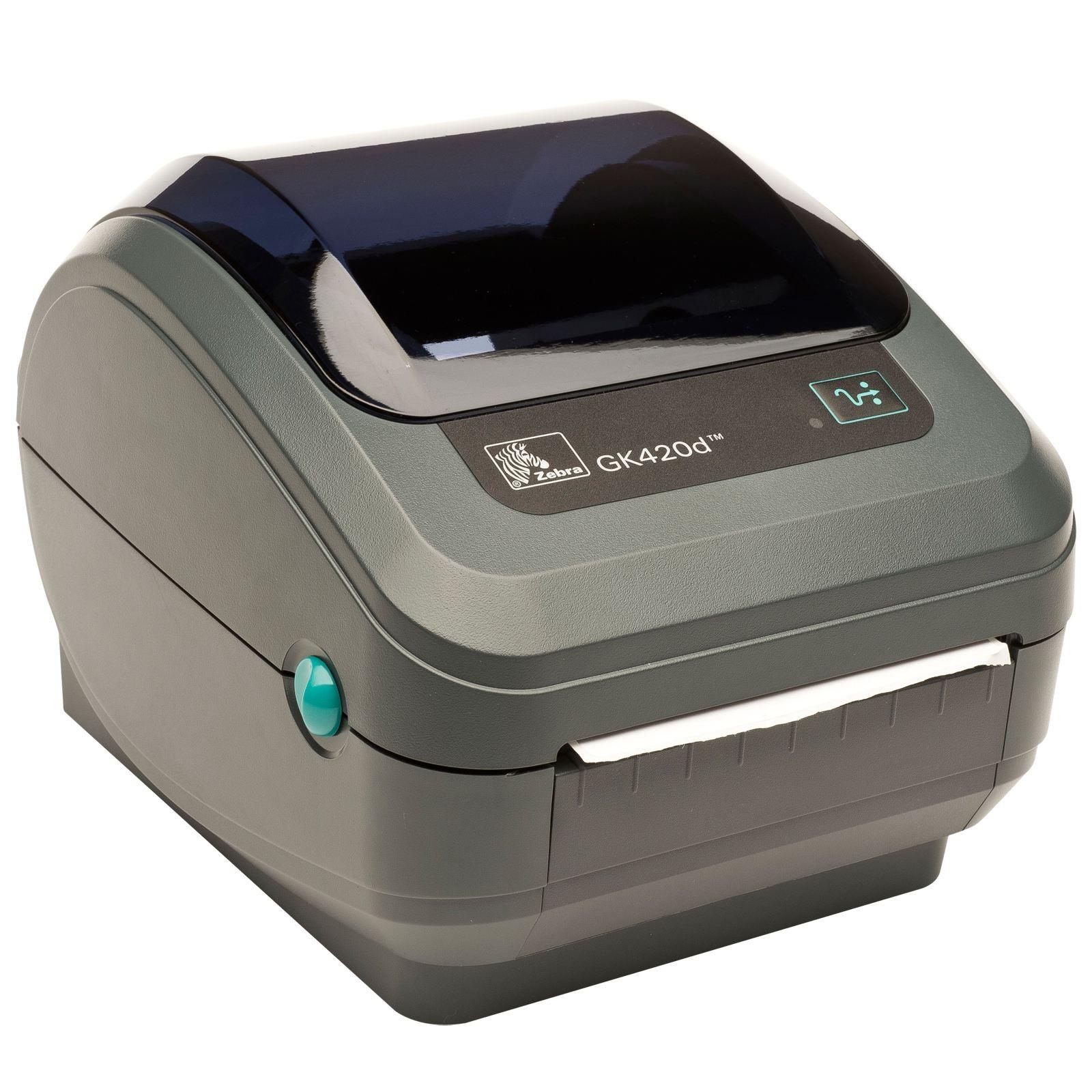 Zebra Gk420d Direct Thermal Termisk Labelprinter